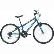 Bicicleta Delta MTB Aro 24 V-Brake Azul 18v - Polimet