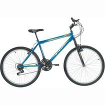 Bicicleta Delta MTB Aro 26 V-Brake Azul 18v - Polimet