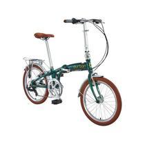 Bicicleta Dobrável 6 Marchas Aro 20 Verde Sampa 720160-VD Durban -