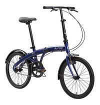 Bicicleta Dobrável Aro 20 Bike Com Quadro De Aço Eco Durban -