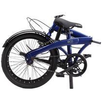 "Bicicleta Dobrável Aro 20"" e 1 Marcha Azul - Durban Eco -"