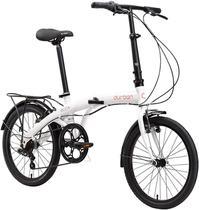 "Bicicleta Dobrável Aro 20"" e 6 Marchas Branca - Durban Eco+ -"