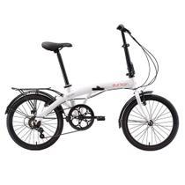 Bicicleta Dobrável aro 20 Eco+ 6 marchas Durban -