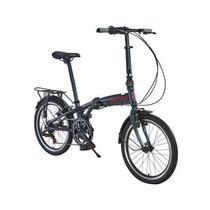 Bicicleta Dobrável aro 20 Sampa Pro 6 marchas Durban -