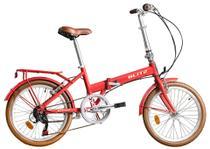 Bicicleta dobrável Blitz Alloy Aro 20 Shimano  6v -