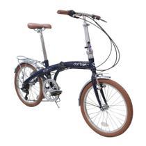 Bicicleta Dobrável Durban 6 Marchas Eco + - Nautika