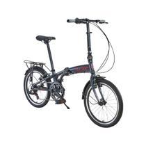 Bicicleta Dobrável Durban Aro 20 Alumínio 6V Sampa Pro Azul -