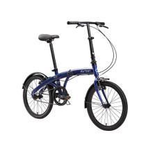 Bicicleta Dobrável Durban Aro 20 com Quadro de Aço Eco Azul -