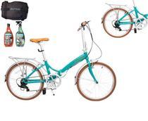Bicicleta Dobrável Durban Aro 20 De 6 Vel - Rio + Brinde -
