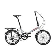 """Bicicleta dobrável Durban aro 20"""" de 6 velocidades Shimano e quadro de aço carbono Rio -"""
