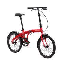 """Bicicleta dobrável Durban aro 20"""" e com quadro de aço Eco -"""