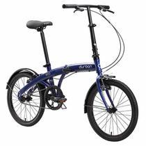 Bicicleta Dobrável DURBAN Eco Azul -