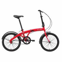 Bicicleta Dobrável DURBAN Eco Vermelho -