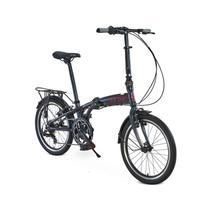 Bicicleta dobrável durban sampa pro aro 20 6 marchas shimano -