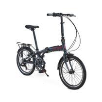 Bicicleta Dobrável Durban Sampa Pro Azul -