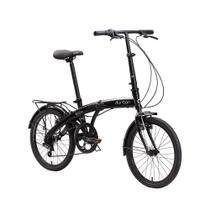 Bicicleta dobrável preta - ECO+ - Durban