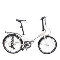 Bicicleta Dobrável Rio XL 24 Branca - Durban -