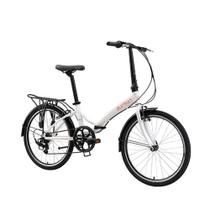 Bicicleta Dobrável Rio XL 24 Branco Durban -