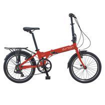 Bicicleta Durban Dobravel Bay Pro Vermelho -