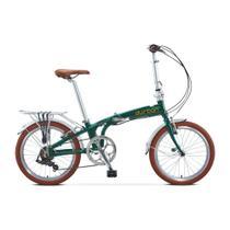 Bicicleta Durban Dobrável Sampa Pro Verde -