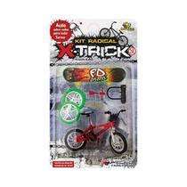 Bicicleta e Skate de Dedo com Acessórios - Art Brink - Artbrink