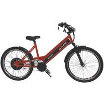 Bicicleta Elétrica 800W 48V 15Ah Sport Cor Cereja - Duos