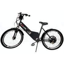 Bicicleta Elétrica 800W 48V 15Ah Sport Preta - Duos