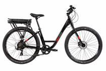 Bicicleta Elétrica Caloi E-vibe Urbam Aro 27,5 - Motor 350w - 16,5'' - 7 Velocidades - Preto -