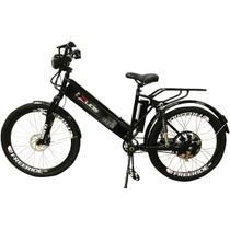 Bicicleta Elétrica com Bateria de Lítio 48V 13Ah Confort FULL Preta - Duos