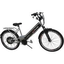 Bicicleta Elétrica com Bateria de Lítio 48V 13Ah Confort Prata - Duos