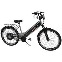 Bicicleta Elétrica Confort 800W 48V 15Ah Prata - Duos
