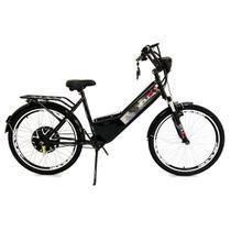 Bicicleta Elétrica Confort 800W 48V 15Ah Preta - Duos