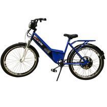 Bicicleta Elétrica Confort FULL 800W 48V 15Ah Cor Azul - Duos