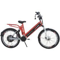 Bicicleta Elétrica CONFORT FULL 800W 48V 15Ah Cor Cereja - Duos