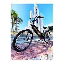 Bicicleta Elétrica DUOS Confort 800W 48V 15Ah Preta -