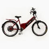 Bicicleta Elétrica Duos Confort  800W 48V 15Ah - Vermelha -