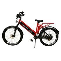 Bicicleta Elétrica Duos Confort Full 800w 48v 15ah, Vermelha -