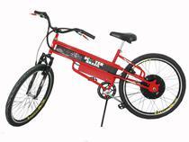 Bicicleta Elétrica Scooter Brasil Aro 26 - 3 Velocidades 800W