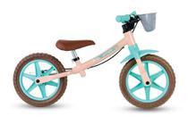 Bicicleta Equilíbrio Balance Bike Sem Pedal Love Nathor -
