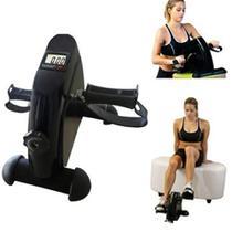 Bicicleta ergometrica fisioterapia mini bike simulador com digital lcd para braços e pernas portatil - Makeda