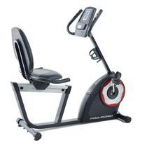 Bicicleta Ergométrica Horizontal 460R Proform 18 Níveis Até 125kg -