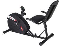 Bicicleta Ergométrica Horizontal Dream Fitness - Max H Magnética Níveis de Esforço