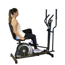 Bicicleta Ergométrica horizontal + Elíptico Mag 5000D Dream - Dream Fitness