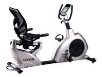 Bicicleta Ergométrica Horizontal Kikos KR9.1  - 16 Níveis de Esforço Monitor Cardíaco Hand Grip