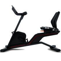 """Bicicleta Ergométrica Horizontal Movement LXR Preta com Visor LCD 7"""" 18 Progamas -"""