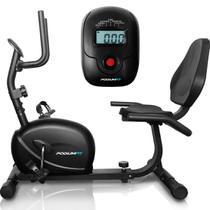 Bicicleta Ergométrica Horizontal Podiumfit H100 - Magnética -