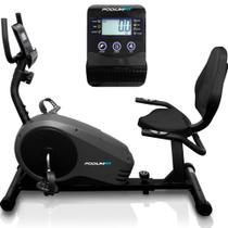 Bicicleta Ergométrica Horizontal Podiumfit H300 Magnética -