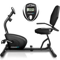 Bicicleta Ergométrica Horizontal PodiumFit H90 - Magnética - 8cargas - Podoiumfit