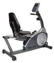 Bicicleta ergometrica horizontal prata 130kg oneal t0804p - O'Neal