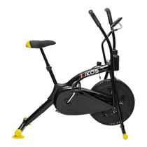 Bicicleta Ergométrica Kikos Bike Air A5 Preto E Amarelo -